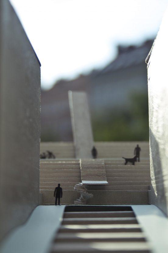 Nové schody na Žižkově