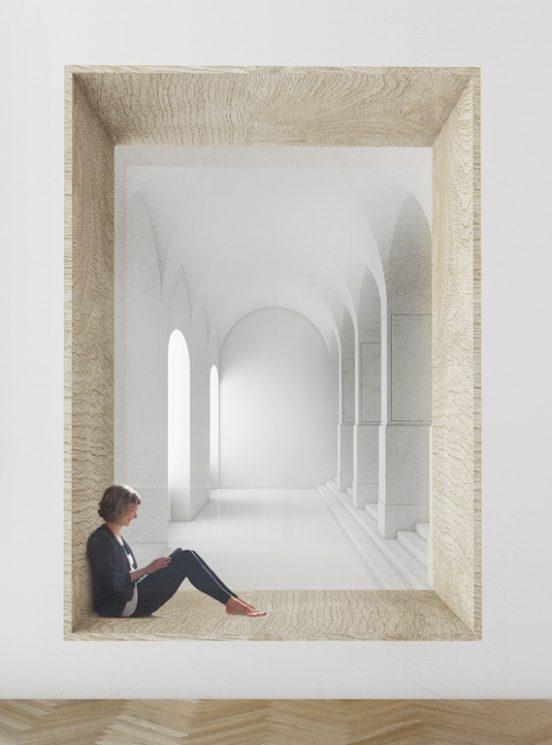Úpravy vstupních prostor do Filozofické fakulty Univerzity Karlovy v Praze