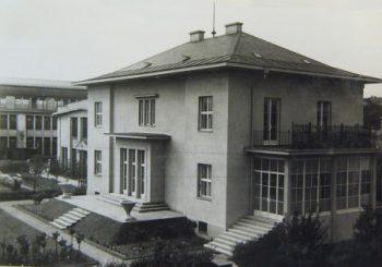 Plauertova vila zitavska ulice 1925 arch Hans Richter