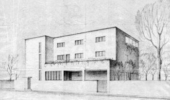 eltisova vila skica domu slavne stavby varnsdorf decin tetschen net