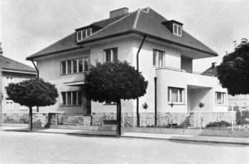 heldova vila varnsdorf Neue Bauten in Nordbohmen Ingeneur architekt Otto Fleischer