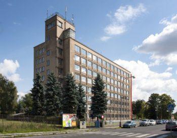 pletarna firmy kunert budova 2 bratislavska ulice arch Rudolf Dinnebier varnsdorf
