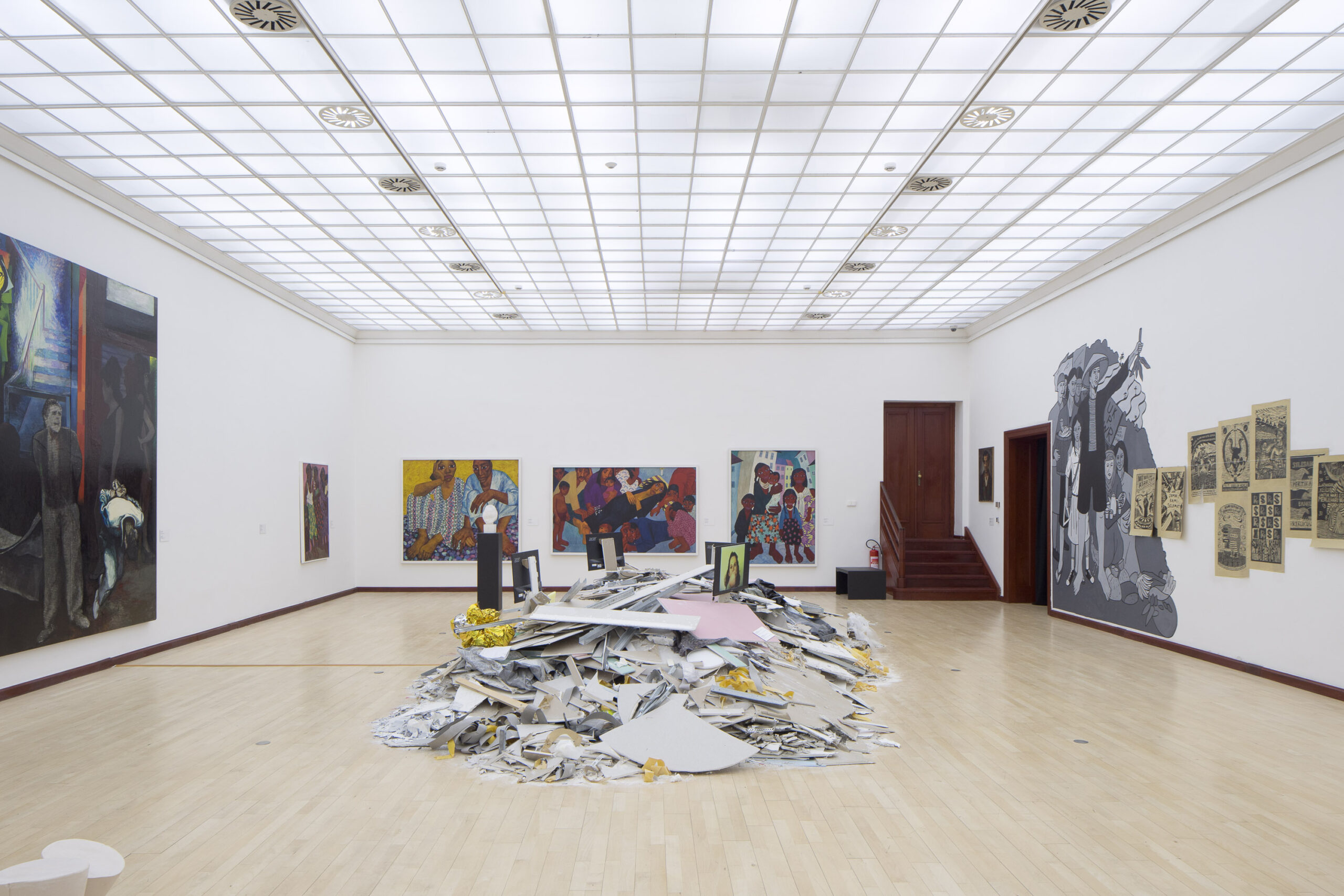 Architektura výstavy Ve věci umění/Matter of Art