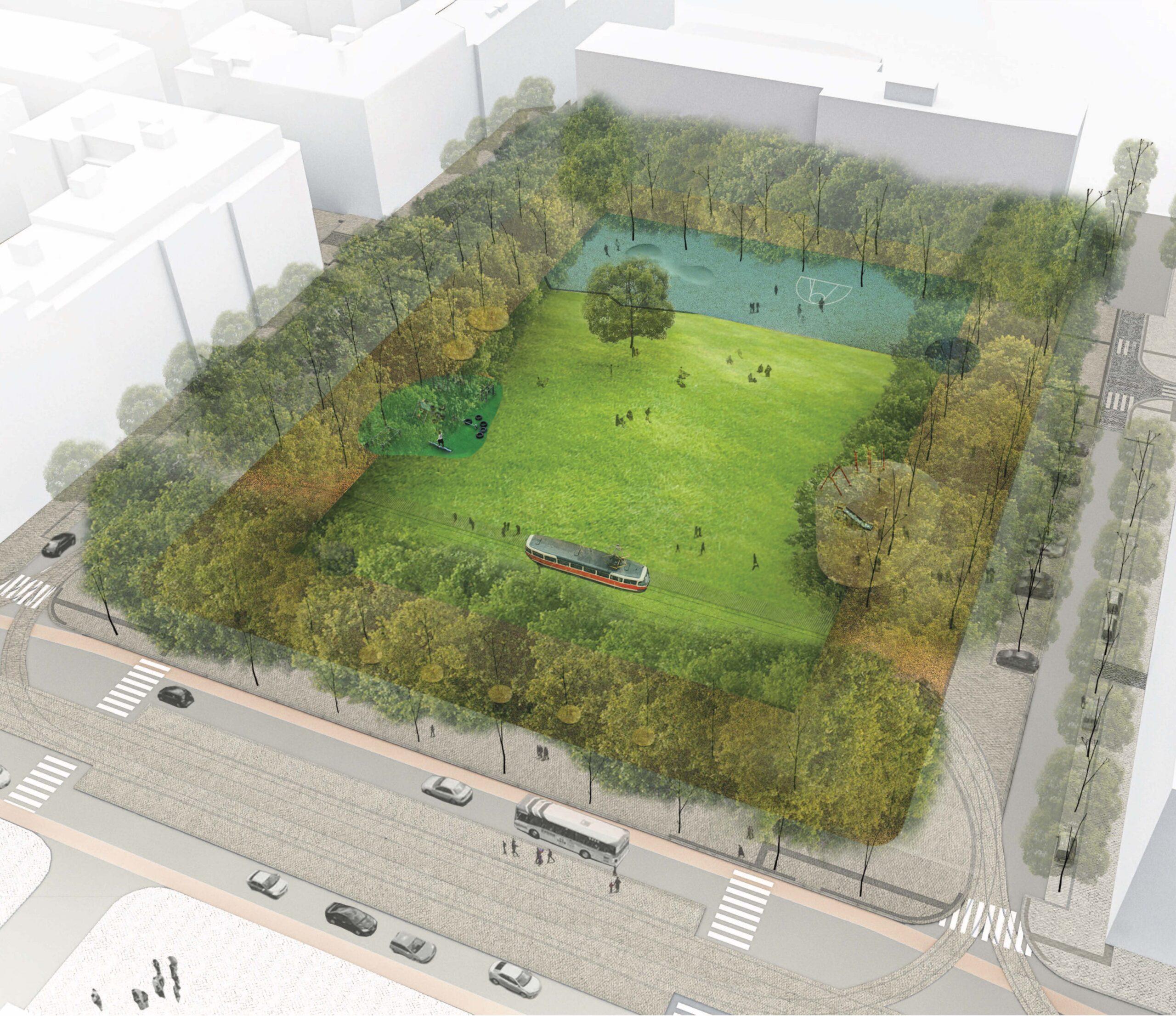 Obnova náměstí Jiřího z Lobkovic – soutěž